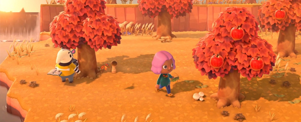 animal crossing new horizons autumn