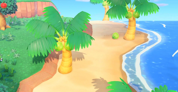 animal crossing new horizons beach