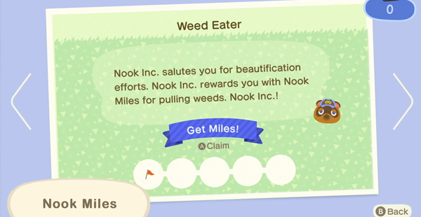 animal crossing new horizons nook miles
