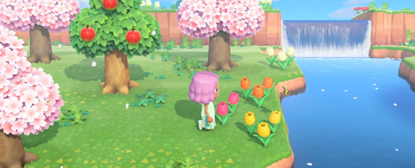 animal crossing new horizons spring