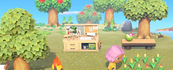 animal crossing new horizons workbench
