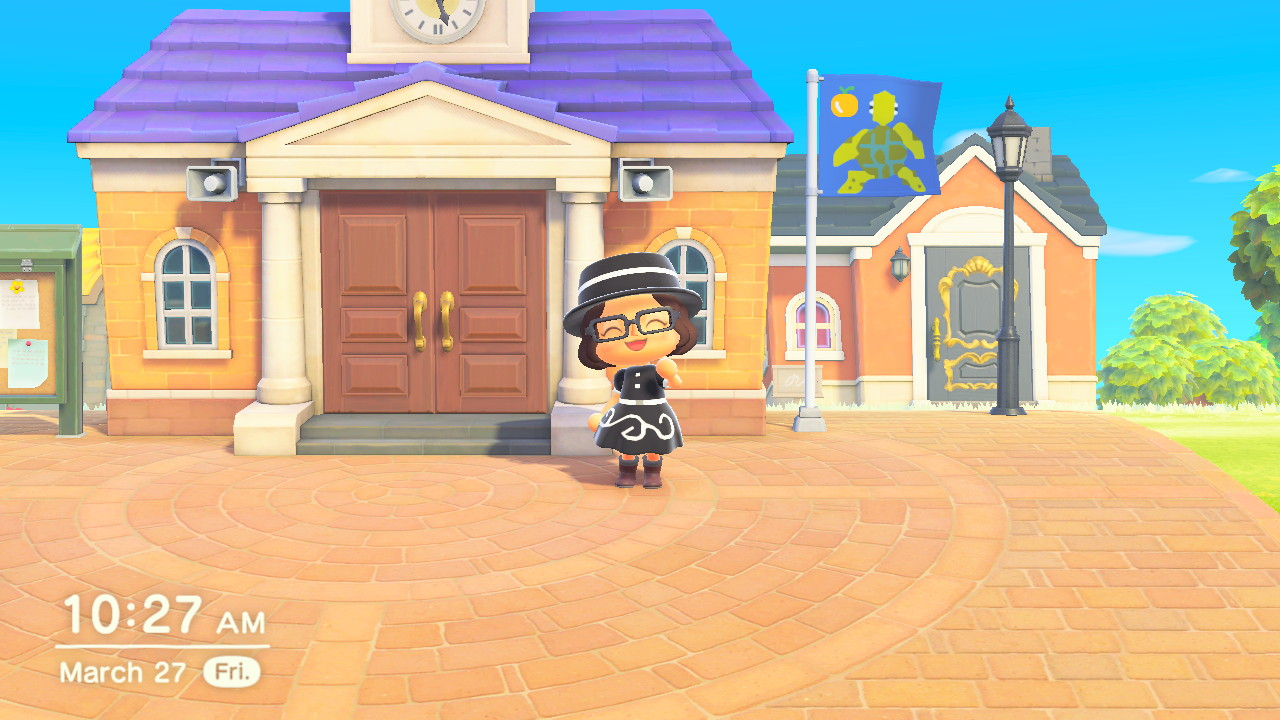 animal crossing new horizons town hall