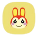 animal crossing bunnie icon
