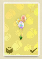 animal crossing new horizons bunny day festive balloons