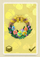 animal crossing new horizons bunny day wreath