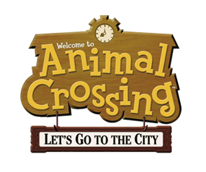 animal crossing lets go to the city logo